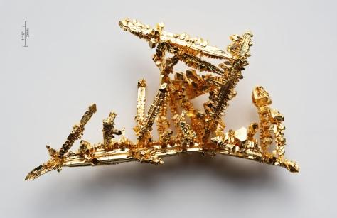 Gold - Macro from: www.pse-mendelejew.de